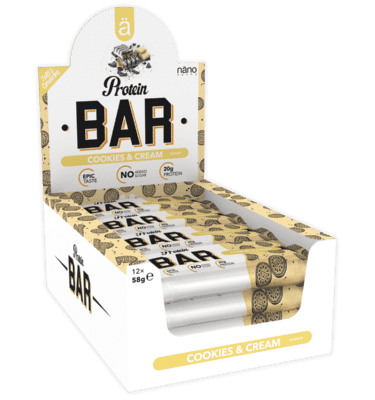 ä PROTEIN BAR - Cookies and Cream (Kassi)