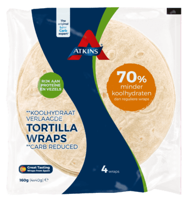 TORTILLA WRAPS 4x40g